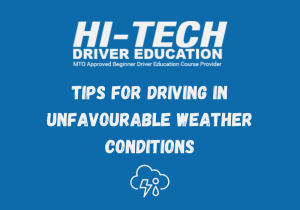 Driving In Unfavourable Weather Conditions